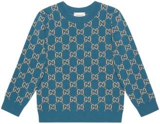 Gucci Children's GG wool sweater