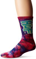 HUF Men's Hoes N Trix Crew Sock