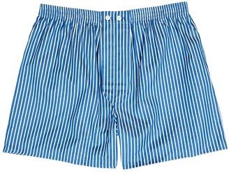 Derek Rose Royal 215 striped cotton boxer shorts