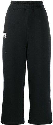 Alexander Wang Wide-Leg Cropped Trousers