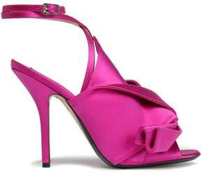 N°21 N21 Knotted Satin Sandals