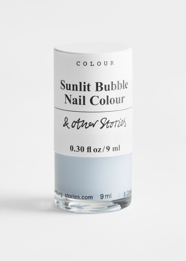 And other stories Sunlit Bubble Nail Polish