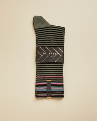 Ted Baker PRESTIN Cotton striped sock