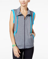 Energie Active Juniors' Contrast-Trim Cowl-Neck Vest