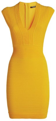 Balmain Sleeveless Knit Midi Dress