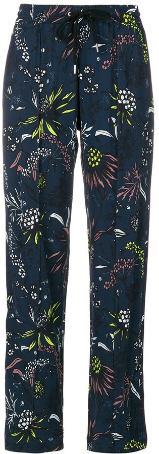 Markus Lupfer embroidered tailored trousers