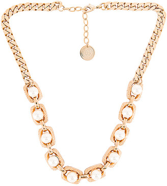 Anton Heunis Pearl Chain Necklace