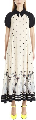 Undercover Cat Print Dress