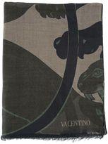 Valentino Garavani Panther Scarf