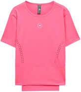 Thumbnail for your product : adidas by Stella McCartney Printed Stretch-jersey T-shirt