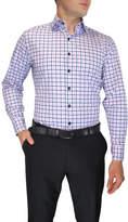 Nigel Lincoln Large Twill Check Slim Fit Shirt