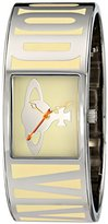 Vivienne Westwood Women's VV084CM Bond Analog Display Swiss Quartz Silver-Tone Watch