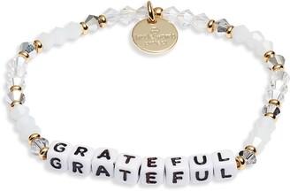 Grateful Beaded Stretch Bracelet