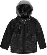 "Urban Republic Big Boys' ""Hooded Aviation"" Jacket"