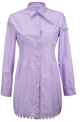 Coperni Pintuck shirt dress