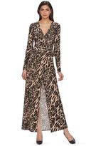 JLO by Jennifer Lopez Women's Luxe Essentials Wrap Maxi Dress