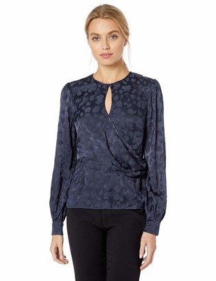 Parker Women's Ainsley Long Sleeve Wrap Blouse