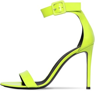 Giuseppe Zanotti 105mm Neon Patent Leather Sandals
