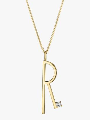 Mimi So Type Letter &R& Pendant
