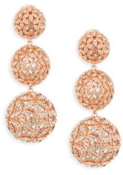 Adriana Orsini Anise Rose Gold-Plated Ball Drop Earrings