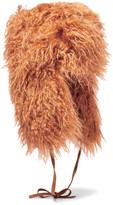 Stella McCartney Faux shearling hat