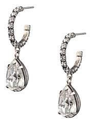 Dannijo Women's Danni Glass Crystal Dangle Drop Earrings