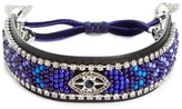 Rebecca Minkoff Women's Celestial Evil Eye Leather Bracelet