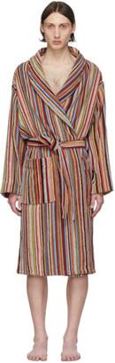 Paul Smith Multicolor Multi Stripe Robe