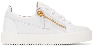 Giuseppe Zanotti White Birel Sneakers