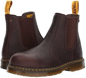 Dr. Martens Work Fellside Steel Toe SD Chelsea (Bark) Men's Work Boots