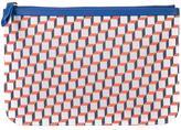 Pierre Hardy geometric print clutch