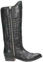 Golden Goose Deluxe Brand Black Cowboy Boots