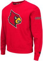 Colosseum Men's Louisville Cardinals Zone II Crewneck Fleece Sweatshirt