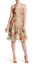 Dress the Population Floral Lace Fit & Flare Anne Dress