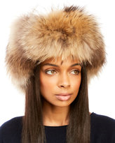 lilly e violetta Real Fox Fur Trapper Hat