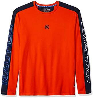 Nautica Men's Long Sleeve Crew Neck Competition T-Shirt