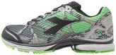 Diadora N61003 Bright Neutral Running Shoes Black/green Flash