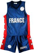 AEL Basketball Summer Shorts Boys New Girl Top Vest Kit Set Age Size 3-14 Years Bnwt