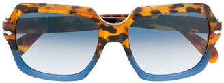 Persol Tortoiseshell Detail Sunglasses