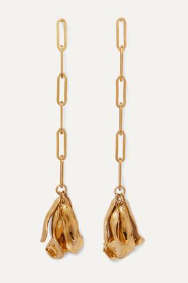 Azalea Leigh Miller - Net Sustain Gold-plated Earrings