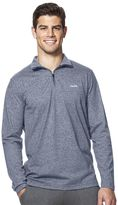 Chaps Big & Tall Classic-Fit Quarter-Zip Pullover