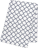 TREND LAB, LLC Trend Lab Navy Quarterfoil Swaddle Blanket