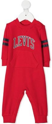 Levi's Logo Stripe-Detail Bodysuit