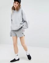 Le Coq Sportif Gray Logo Shorts