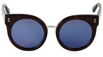 Stella McCartney 52MM Cat Eye Round Sunglasses