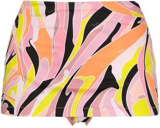 Emilio Pucci Vetrate-print bikini bottoms