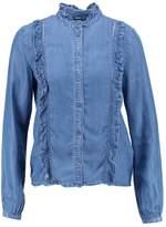 Only AMY Shirt blue denim