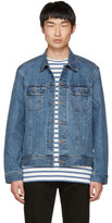 A.P.C. Indigo Denim Us Jacket