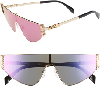Moschino 99mm Shield Sunglasses