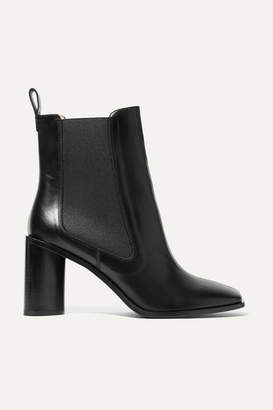Acne Studios Bethany Leather Ankle Boots - Black